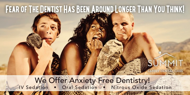 Summit Family Dental Care fear postcard