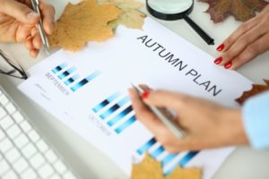 small business marketing plan for autumn