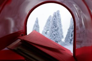 holiday mailbox with direct mail for small businesses